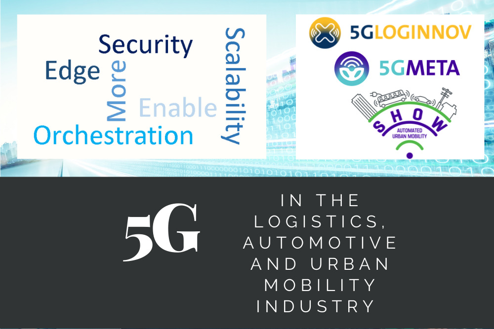 5G and the mobility sector: 5G-LOGINNOV and other H2020 projects at the forefront of innovation