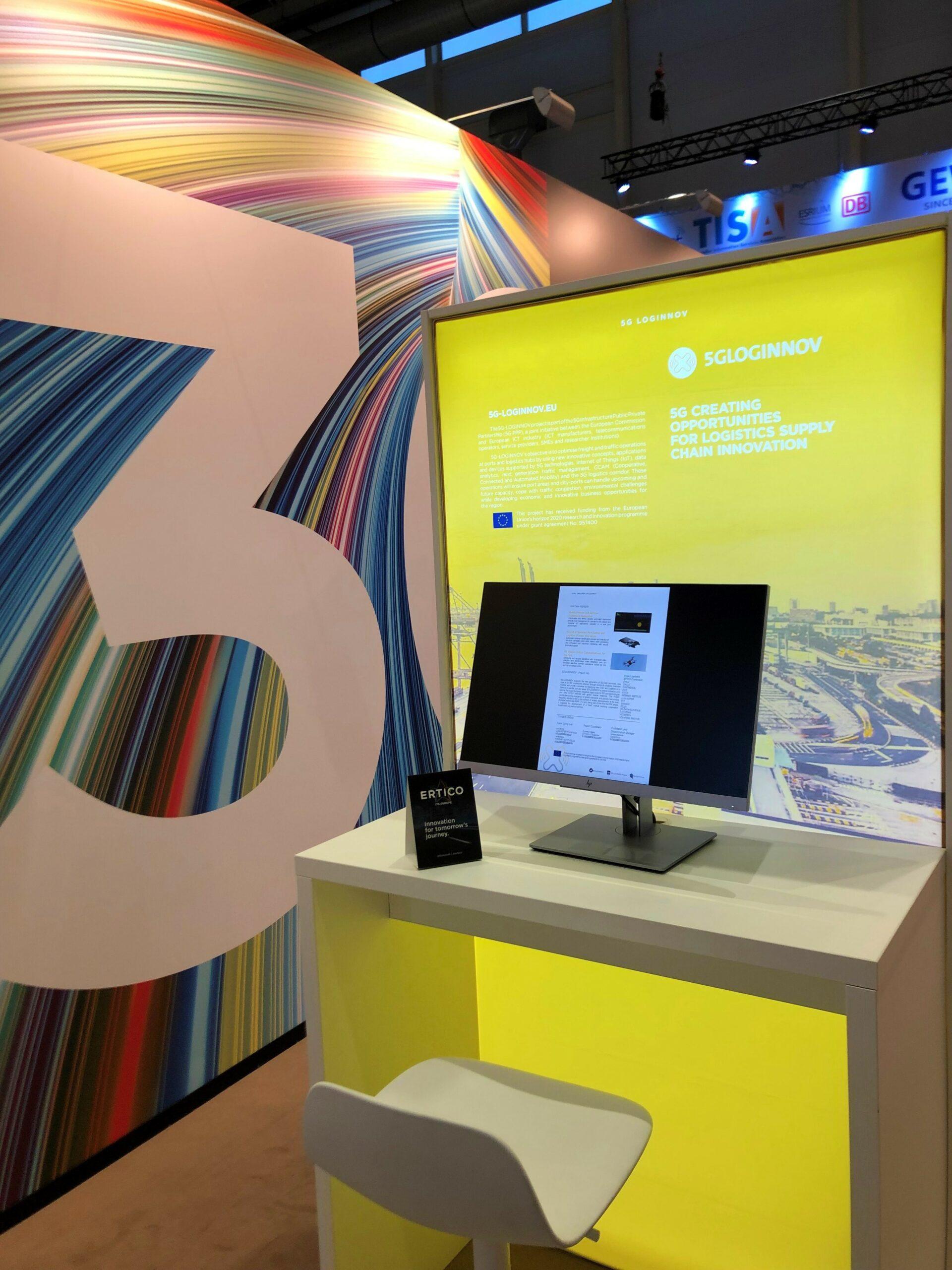 5G-LOGINNOV booth