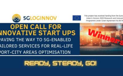 5G-LOGINNOV Open Call Winners
